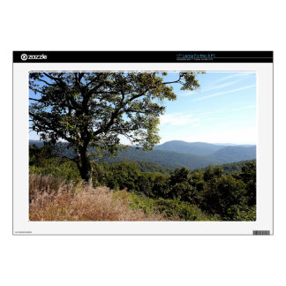 Skyline Drive Mountain View Decals For Laptops