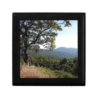 Skyline Drive Mountain View Keepsake Box