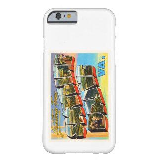 Skyline Drive Virginia VA Vintage Travel Postcard- Barely There iPhone 6 Case