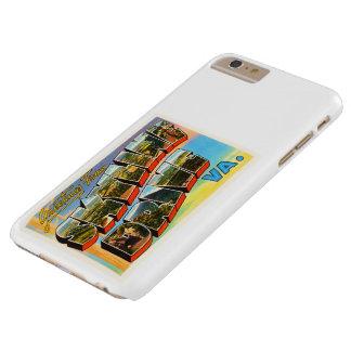 Skyline Drive Virginia VA Vintage Travel Postcard- Barely There iPhone 6 Plus Case