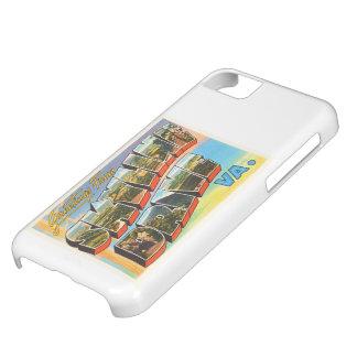 Skyline Drive Virginia VA Vintage Travel Postcard- Cover For iPhone 5C