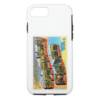 Skyline Drive Virginia VA Vintage Travel Postcard- iPhone 8/7 Case