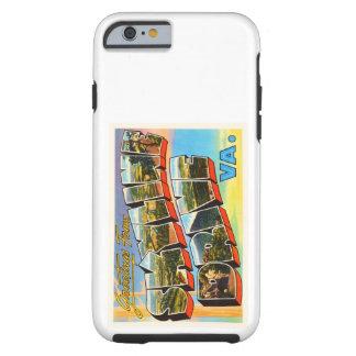 Skyline Drive Virginia VA Vintage Travel Postcard- Tough iPhone 6 Case