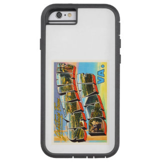 Skyline Drive Virginia VA Vintage Travel Postcard- Tough Xtreme iPhone 6 Case