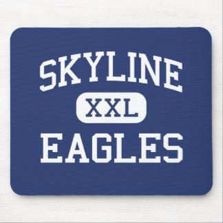 Skyline - Eagles - High - Salt Lake City Utah Mouse Mats