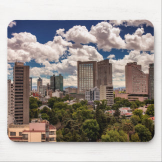 Skyline From The Hotels In Polanco Mexico City Mouse Pad