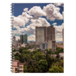 Skyline From The Hotels In Polanco Mexico City Notebook