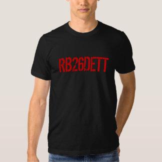 Skyline GT-R RB26DETT Engine Code Tee Shirt
