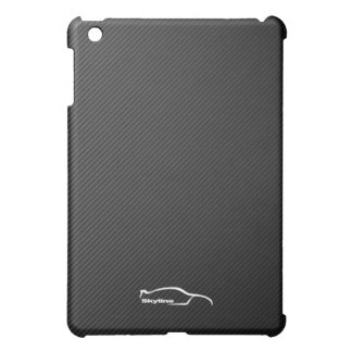 Skyline GT-R white silhouette logo Case For The iPad Mini