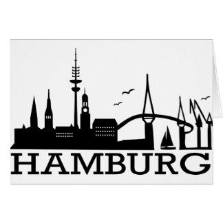 Skyline Hamburg Cards