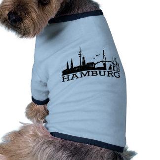 Skyline Hamburg Doggie T Shirt