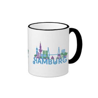 Skyline Hamburg Coffee Mugs