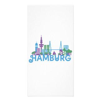 Skyline Hamburg Photo Cards