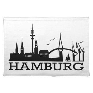 Skyline Hamburg Place Mat
