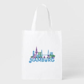 Skyline Hamburg Reusable Grocery Bag
