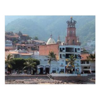 skyline in Puerto Vallarta postcard Postcards