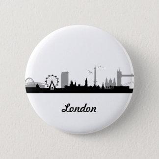 Skyline London Pinback Button