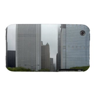 Skyline looking north iPhone 3 Case-Mate cases
