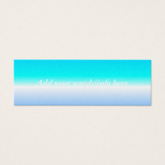 Skyline Mini Business Card
