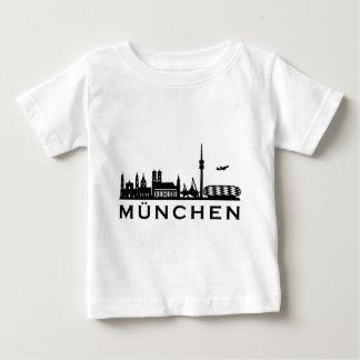 Skyline Munich Baby T-Shirt