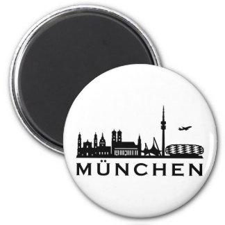 Skyline Munich Magnet