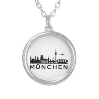 Skyline Munich Custom Necklace