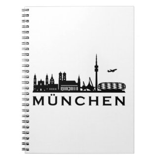 Skyline Munich Notebook