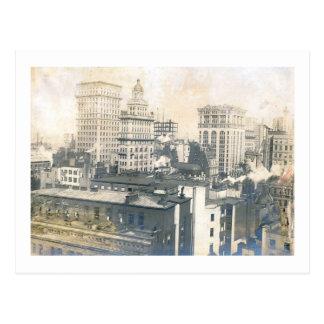 Skyline, New York City 1905 Vintage Postcard