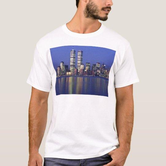 Skyline New York with World Trade Center T-Shirt