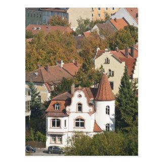 Skyline of Bamberg, Germany 2 Postcard