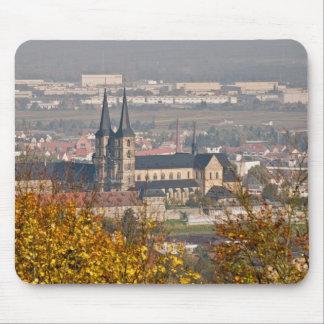 Skyline of Bamberg, Germany Mousepad