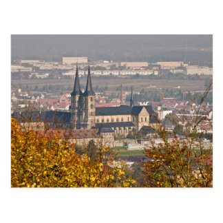 Skyline of Bamberg, Germany Postcard