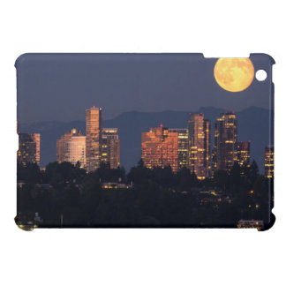 Skyline Of Bellevue From Lake Washington At Dusk iPad Mini Cover