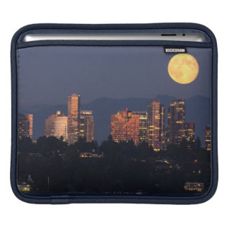 Skyline Of Bellevue From Lake Washington At Dusk iPad Sleeve
