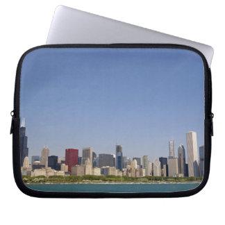 Skyline of Chicago, Illinois, USA. Laptop Computer Sleeves