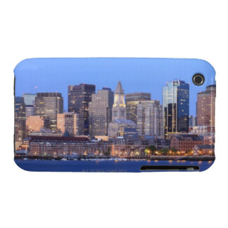 Skyline of downtown Boston from inner Boston iPhone 3 Case