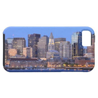 Skyline of downtown Boston from inner Boston iPhone SE/5/5s Case
