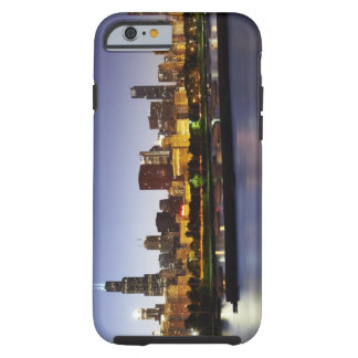 Skyline of downtown Chicago at dusk Tough iPhone 6 Case