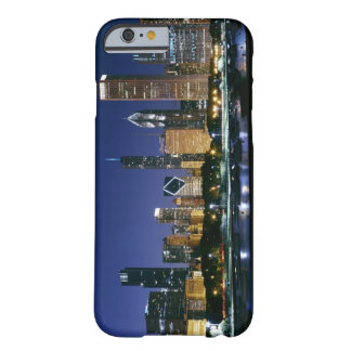 Skyline of Downtown Chicago at night Barely There iPhone 6 Case