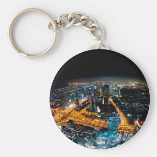 Skyline of Dubai Keychain