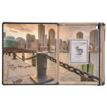 Skyline of Financial District of Boston Covers For iPad
