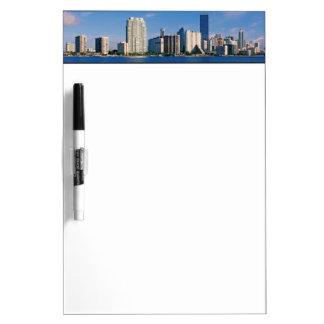 Skyline of Miami, Florida Dry-Erase Board