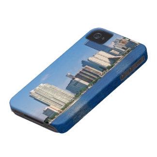 Skyline of Miami, Florida iPhone 4 Case-Mate Cases
