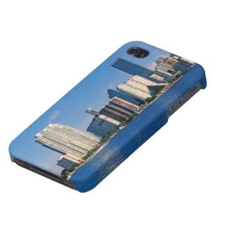 Skyline of Miami, Florida iPhone 4 Covers