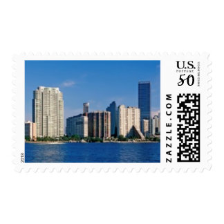 Skyline of Miami, Florida Postage