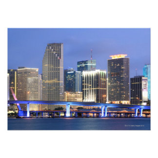 Skyline of Miami Personalized Invite