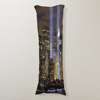 """Skyline of New York"" Body Pillow"