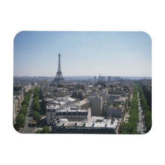 Skyline of Paris, France Flexible Magnets