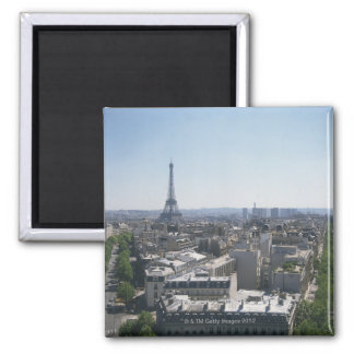 Skyline of Paris, France Magnet