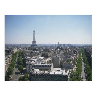 Skyline of Paris, France Postcards